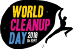 world cleanup day logo
